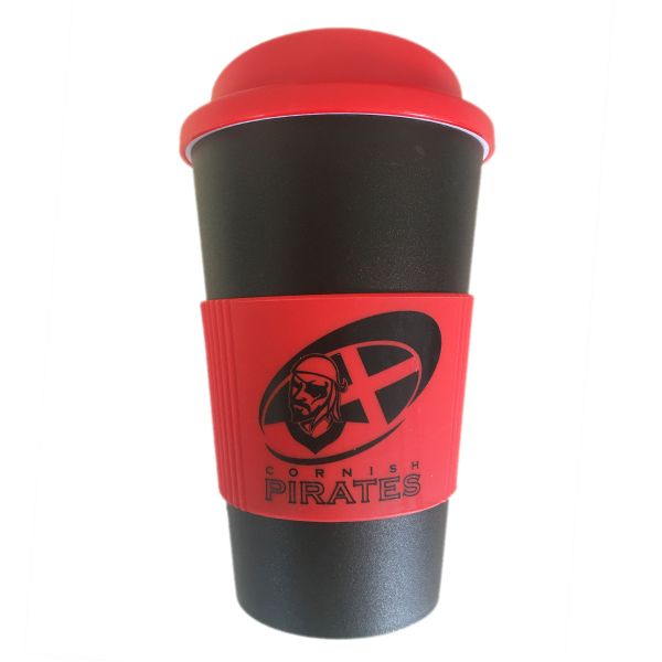 Cornish Pirates Reusable Travel Mug