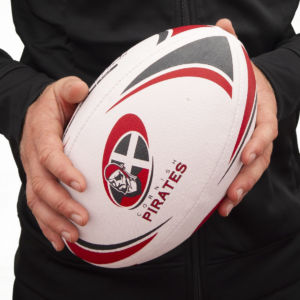 Cornish Pirates Rugby Ball