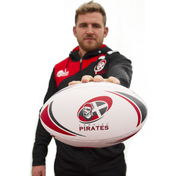 Cornish Pirates Rugby Ball