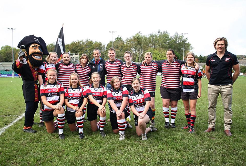 Pirate Las S Rugby Cornish