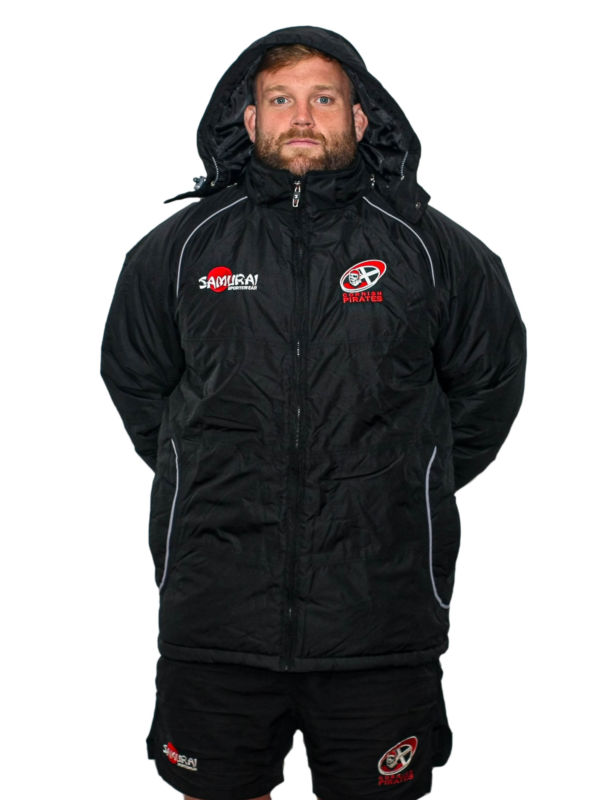 Cornish Pirates Padded Coat