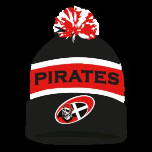 Cornish Pirates Bobble Hat